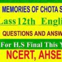 MEMORIES OF CHOTA SAHIB