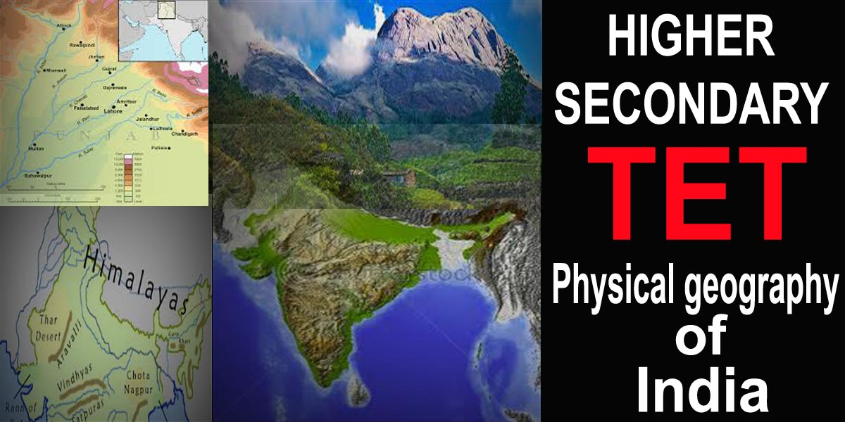 Physical geography of India