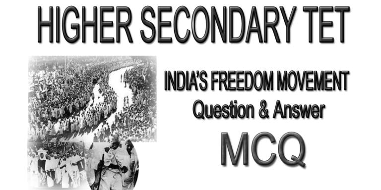 india's freedom movement
